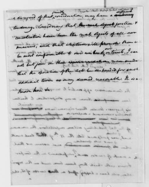 State Department, November 27, 1806, Report on British Negotiations
