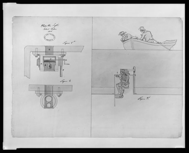 "[Submarine (""Submarine Vessel, Submarine Bombs and Mode of Attack"") for the United States government. Cock cavity and wheel details for ""plunging boat""]"