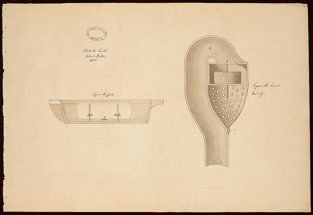 "[Submarine (""Submarine Vessel, Submarine Bombs and Mode of Attack"") for the United States government. Water chambers, valves, water passages]"