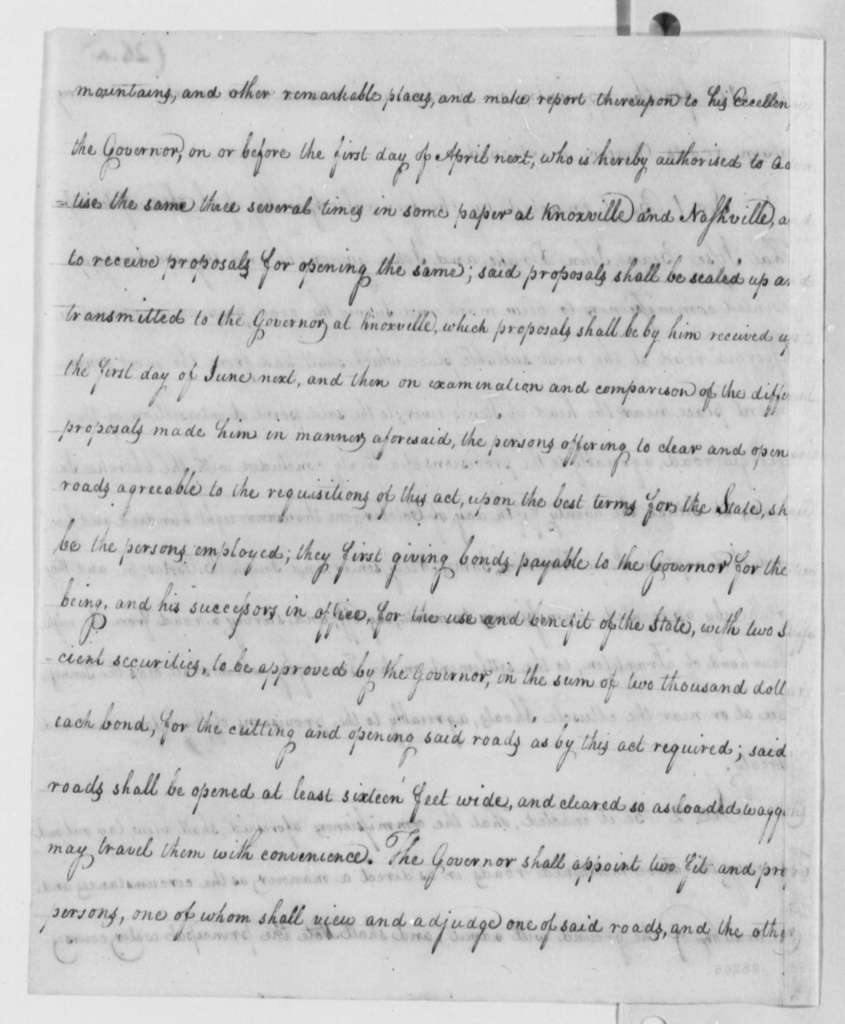 Tennessee General Assembly, September 13, 1806, An Act for the Appointment of Commissioners