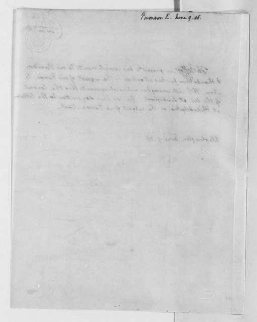 Thomas Jefferson to E. Bronson, June 9, 1806