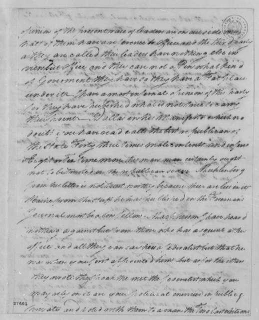 Thomas Leiper to Thomas Jefferson, March 23, 1806
