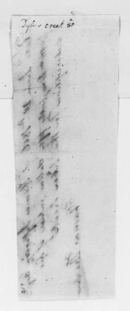 Thomas Thorpe to Thomas Jefferson, June 28, 1806, Receipt