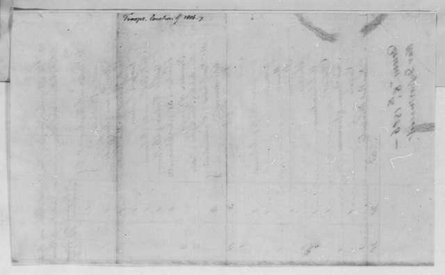 War Department, December 8, 1806, Disposition of Army Regulars