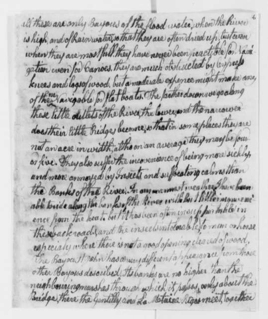 William Barnwell to Thomas Jefferson, April 17, 1806, with Report