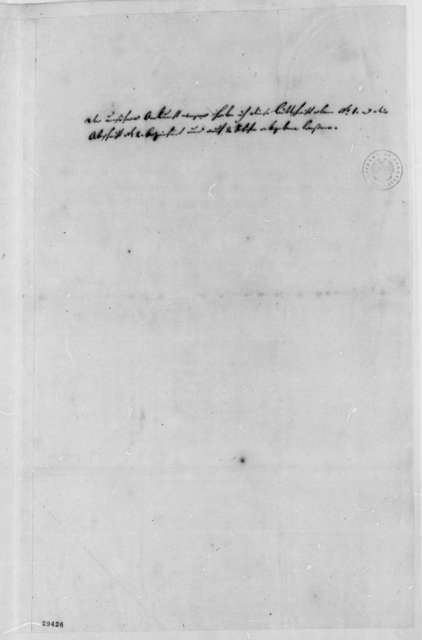 Bridensen to Thomas Jefferson, May 21, 1807, and Copy in German