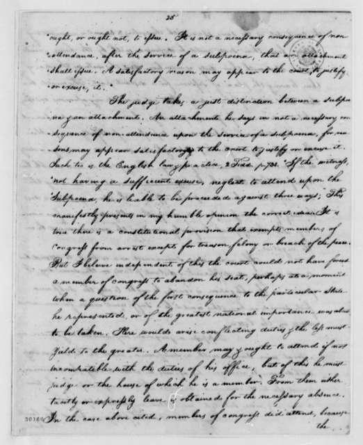 Caesar A. Rodney to Thomas Jefferson, September 15, 1807
