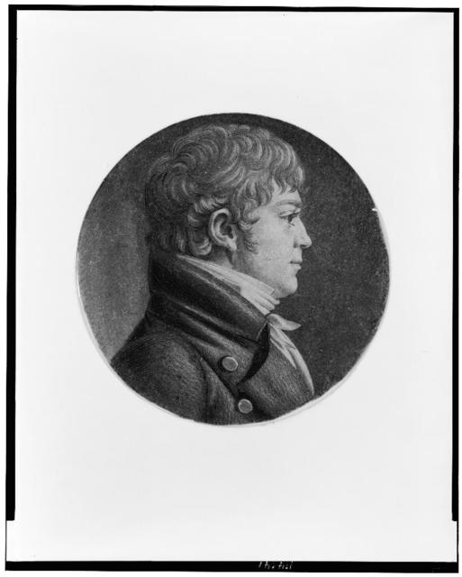 [Charles W. Goldsborough, head-and-shoulders portrait, facing right]
