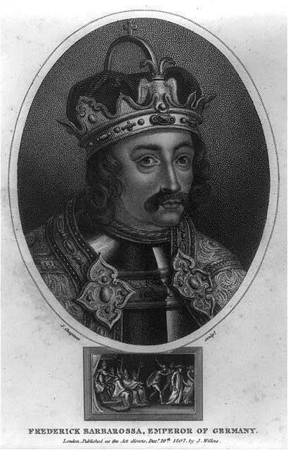 Friedrich I Barbarossa, Emperor of Germany, 1121-1190
