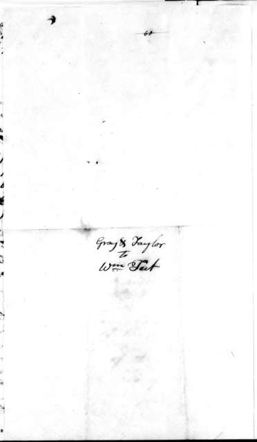 Gray & Taylor to William Tait, December 20, 1807