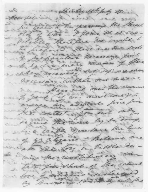 Henry Lee to James Madison, July 19, 1807.