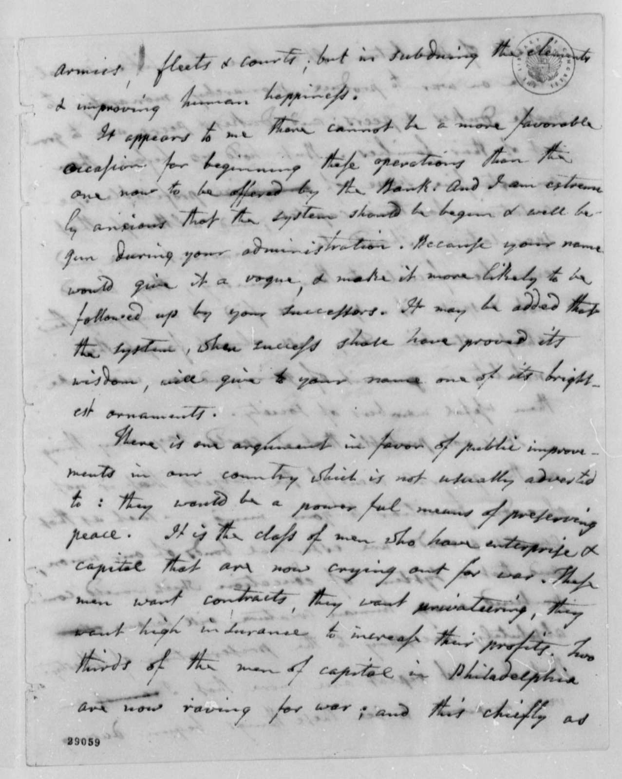 Joel Barlow to Thomas Jefferson, February 25, 1807
