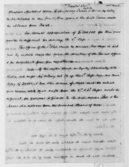 John Sibley to Henry Dearborn, April 28, 1807, with Extract and List