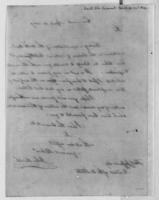 John Smith to Thomas Jefferson, April 13, 1807