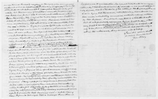 John Stokely to James Madison, December 17, 1807.