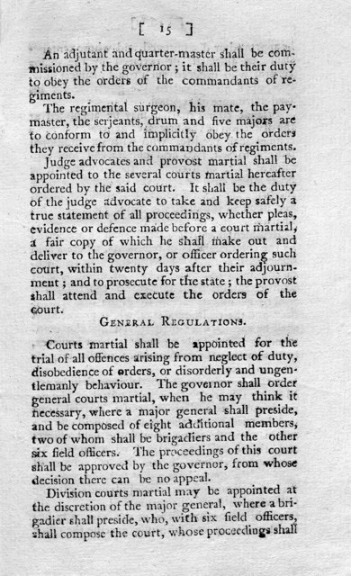 Laws for regulating the militia : to which is added, an act for establishing rules and articles for the government of the armies of the United States