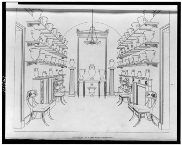 [Second room containing Greek vases]