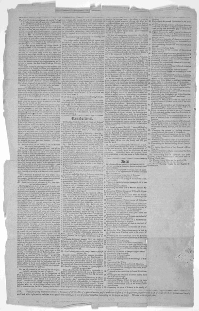 Sketch of the proceedings of the Virginia Legislature. Session 1806---7. Office of the Virginia Gazette 1807.