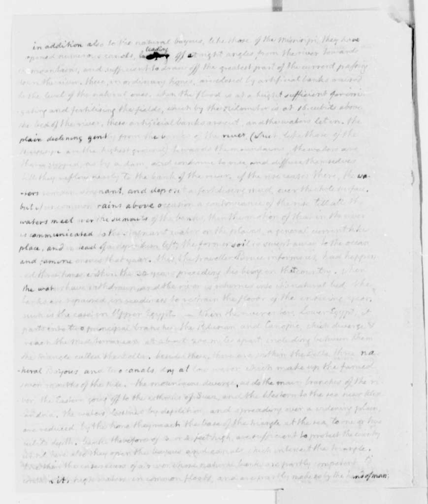 Thomas Jefferson, 1807-1813, Batture Case, Reference Documents with Responses