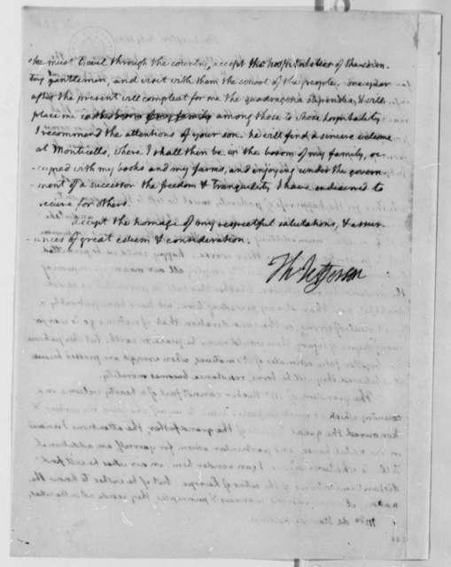 Thomas Jefferson to Anne L. G. N. Stael-Holstein, July 16, 1807