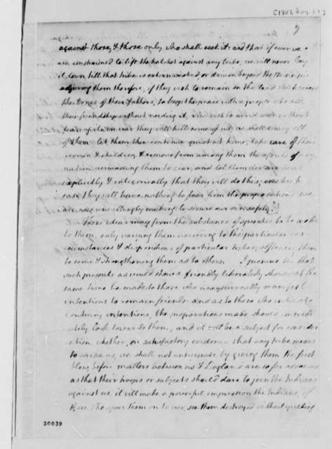 Thomas Jefferson to Henry Dearborn, August 28, 1807