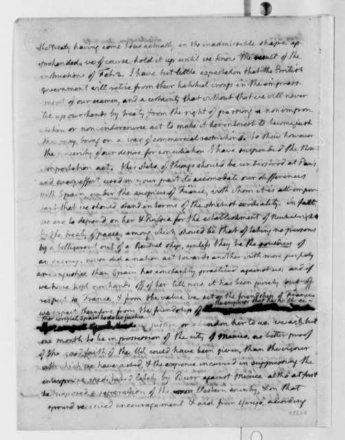 Thomas Jefferson to James Bowdoin, April 2, 1807