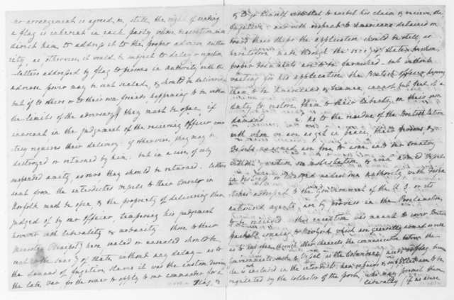 Thomas Jefferson to William H. Cabell, August 7, 1807. In the hand of D. P. Madison.