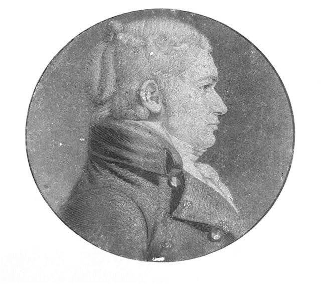 [William Lee, head-and-shoulders portrait, right profile]