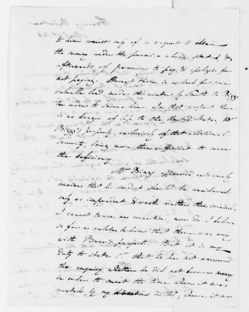 Albert Gallatin to Thomas Jefferson, April 7, 1808
