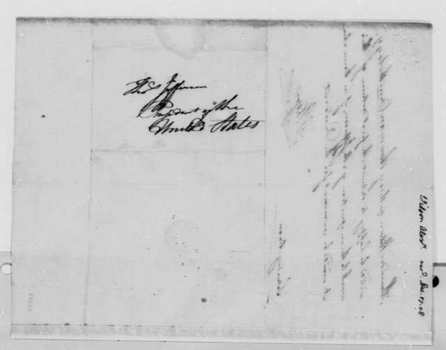 Alexander Wilson to Thomas Jefferson, December 17, 1808