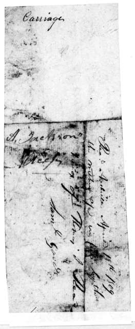 Andrew Jackson to Samuel Goode, September 17, 1808