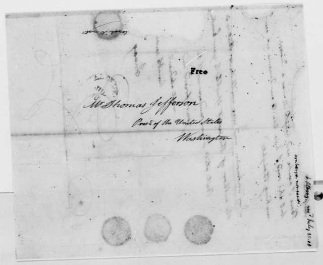 Anonymous to Thomas Jefferson, July 25, 1808