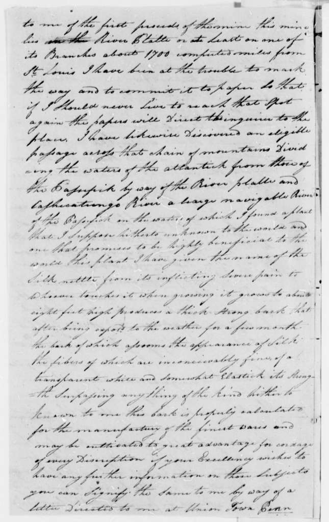 Anthony G. Bettay to Thomas Jefferson, January 27, 1808