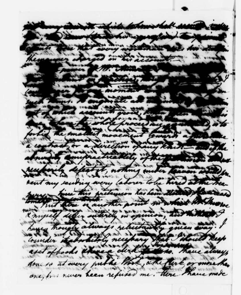 Benjamin H. Latrobe to Thomas Jefferson, May 23, 1808, with Drawings