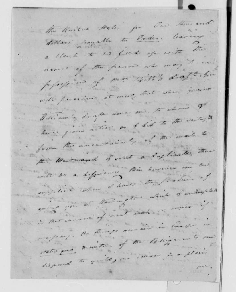 Caesar A. Rodney to Thomas Jefferson, October 31, 1808
