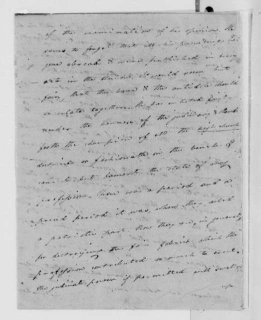 Caesar A. Rodney to Thomas Jefferson, October 31, 1808