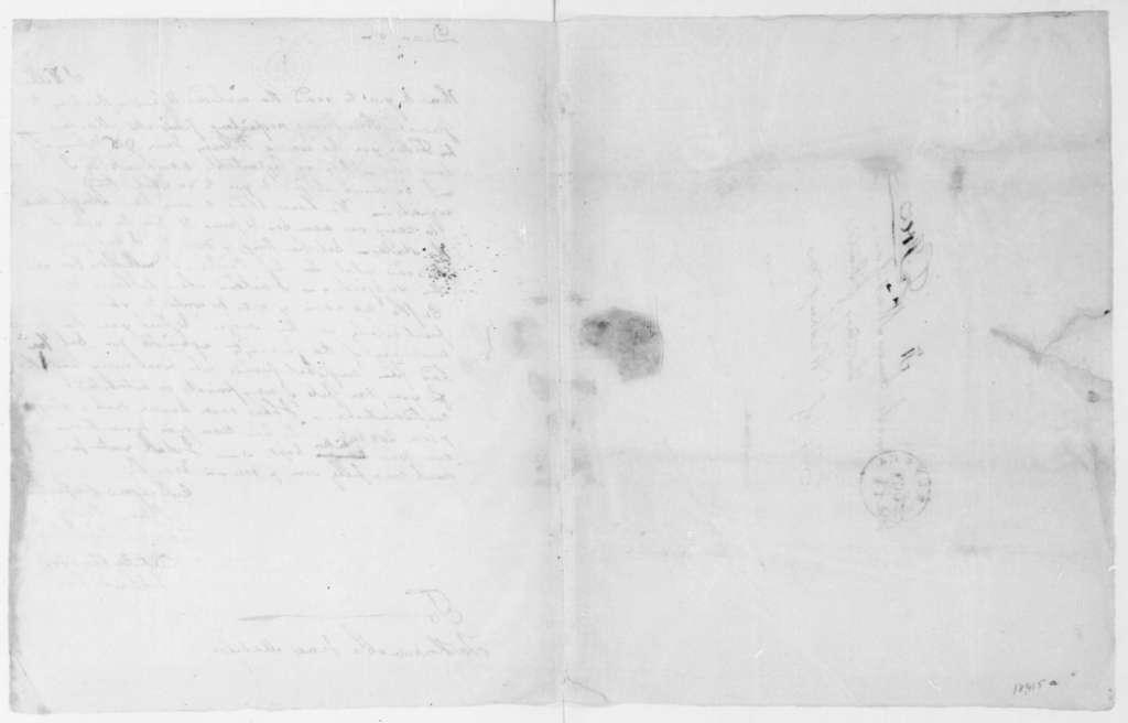 Charles Pinckney to James Madison, October 12, 1808.