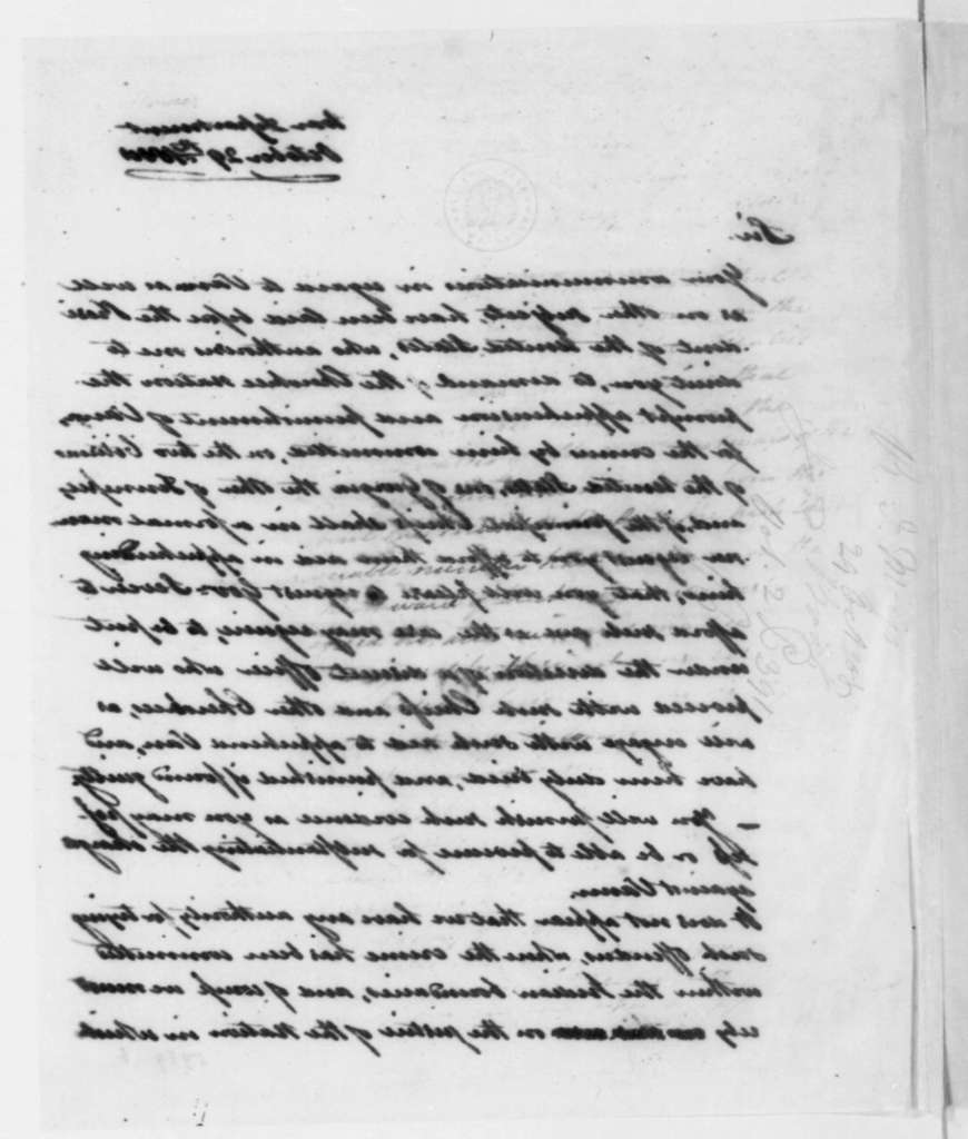 Dearborn to Return J. Meigs, October 29, 1808.