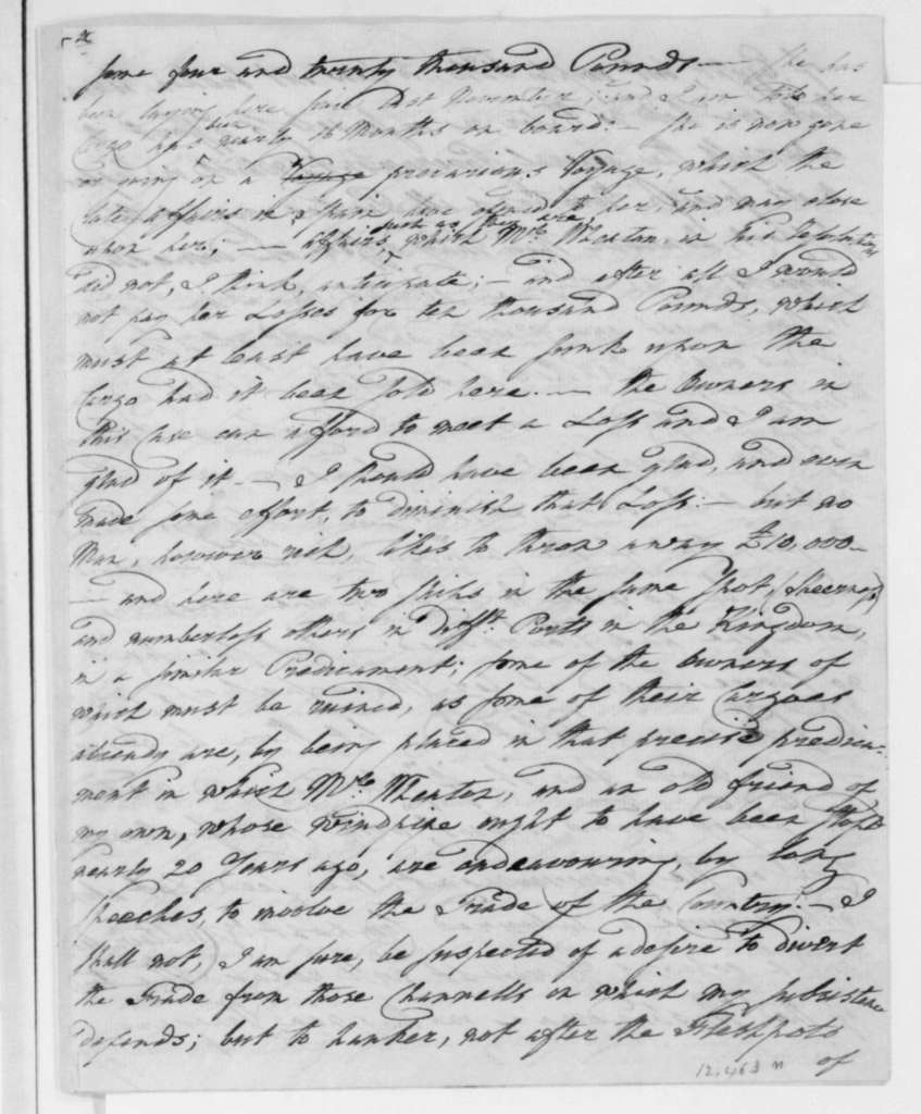 George Joy to James Madison, September 17, 1808.