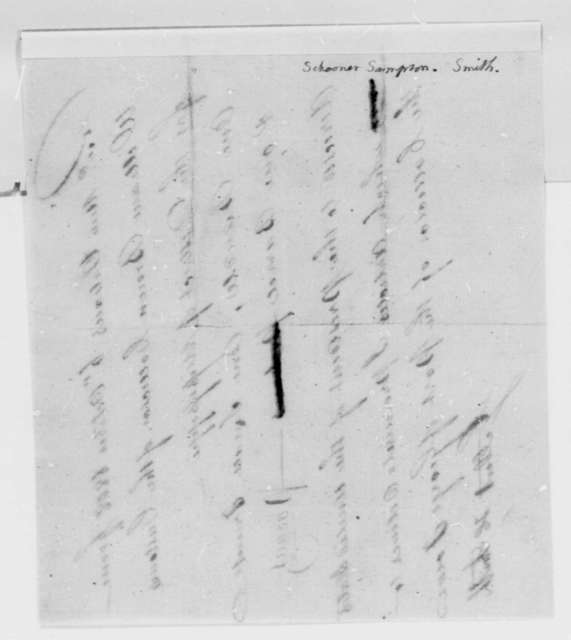 Gilbert H. Smith to William Brown, October 6, 1808, Receipt