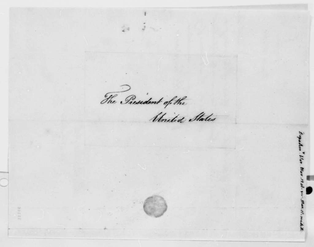 Henry Dearborn to Thomas Jefferson, March 15, 1808