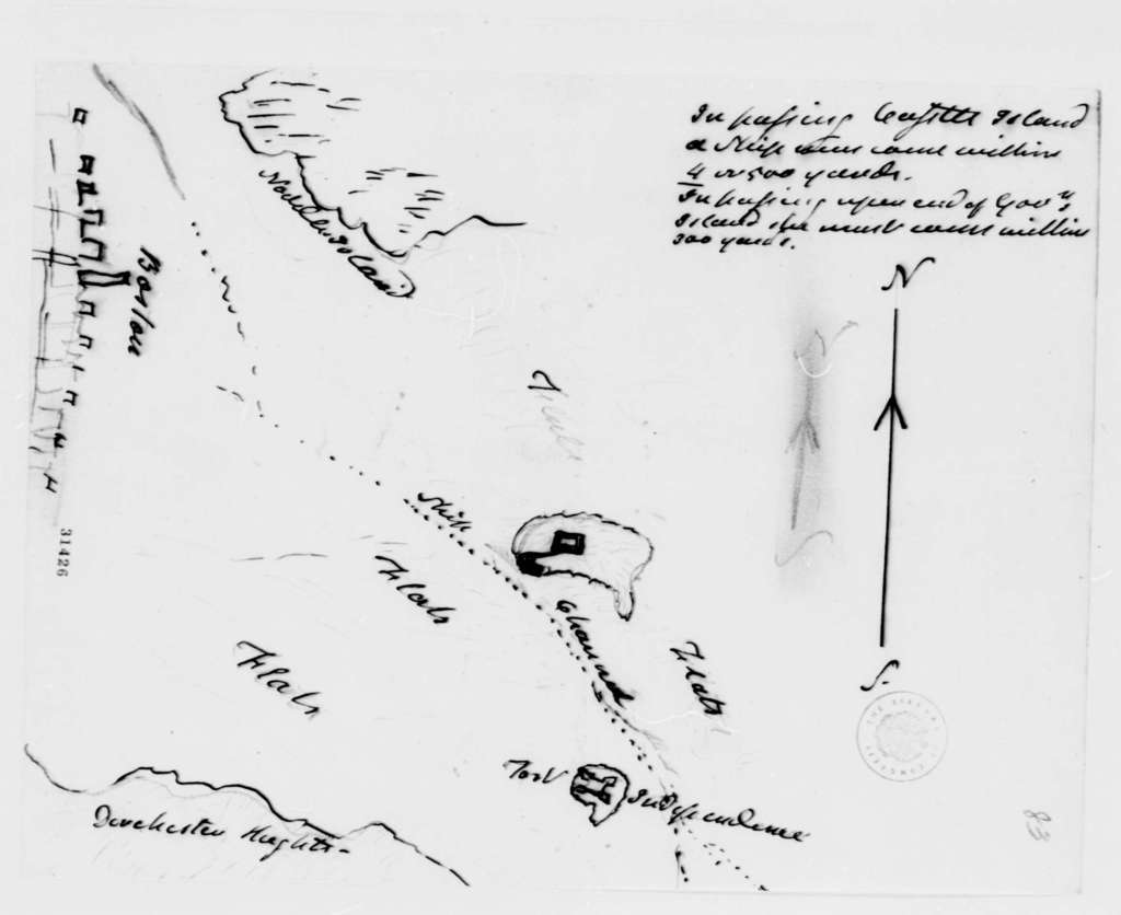 Henry Dearborn to Thomas Jefferson, May 14, 1808, with Map