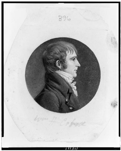 [James Barbour, head-and-shoulders portrait, facing right]