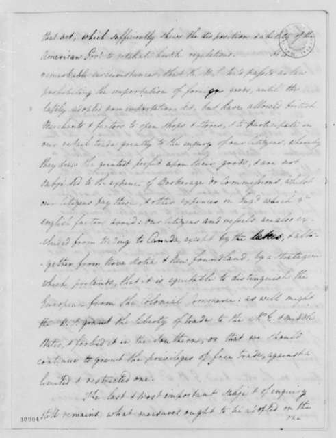 James Bowdoin to David Williams, February 5, 1808