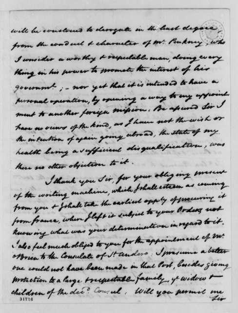James Bowdoin to Thomas Jefferson, July 18, 1808