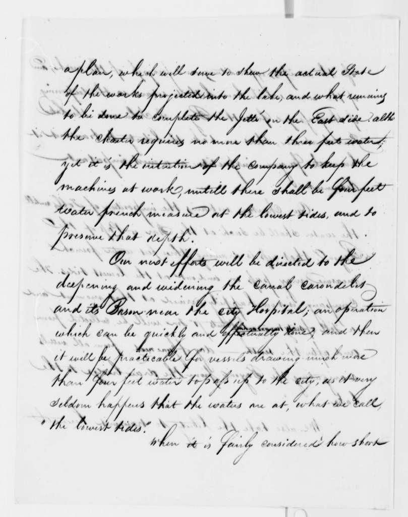 James Pitot to Thomas Jefferson, May 1808, Naval Equipment