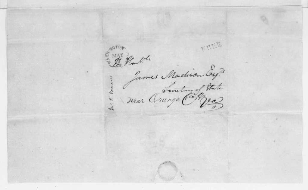 John Van Ness to James Madison, May 12, 1808.
