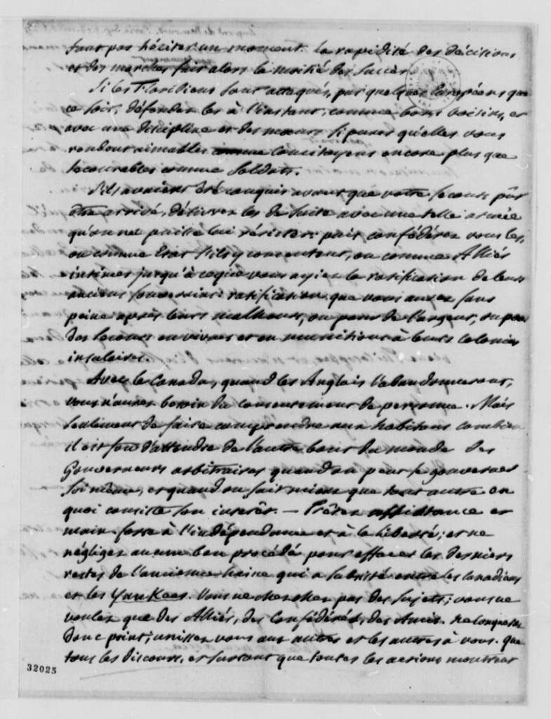 Pierre S. Dupont de Nemours to Thomas Jefferson, September 5, 1808