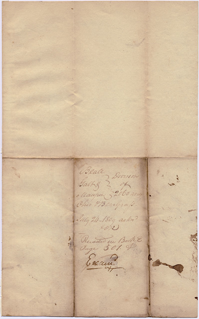 Property agreement made by the heirs of Samuel Beall