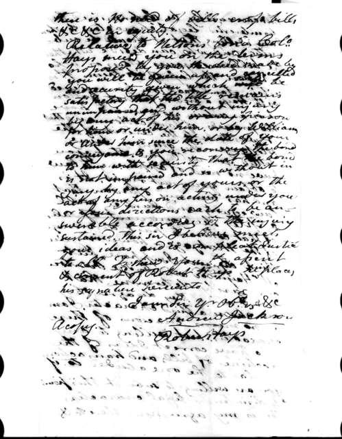 Robert Hays to John McNairy, February 13, 1808